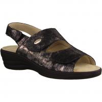 155 Schwarz - Sandale mit loser Einlage