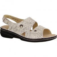 Waldläufer 684090-893 Offwhite/Silber (weiß) - Sandale mit loser Einlage
