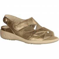 Kara 684090-726 Stein/Platin (grau) - Sandale mit loser Einlage