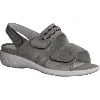 Semler Ramona R9085-018 (grau) Chrom,Grau - Sandale mit loser Einlage