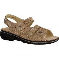 Ganter 2047771219 Creme/Taupe (beige) - Sandale mit loser Einlage