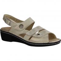 Waldläufer Heliett 342002-630 Kiesel/Corda (beige) - Sandale mit loser Einlage
