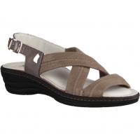 Slowlies 154 Sand (beige) - Sandale mit loser Einlage