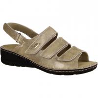 330 Sand (beige) - Sandale mit loser Einlage
