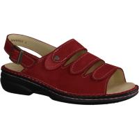 Ganter Gina 200141-400,Rot - Sandale mit loser Einlage