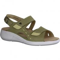 Semler Fanny F2015-088,Grün Schilf (grün) - Sandale mit loser Einlage