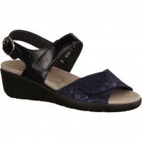 Semler Ramona R9045-080,Dunkelblau Midnightblue - Sandale mit loser Einlage