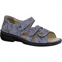 Finn Comfort Saloniki Lapiz (Blau) - Sandale mit loser Einlage
