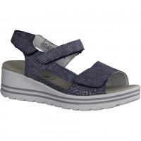 Finn Comfort Juist-Soft Atlantic (blau) - Sandale mit loser Einlage
