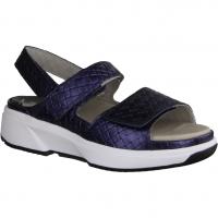 Waldläufer Gunna 204018-206 Pro Aktiv Jeans (blau) - Sandale mit loser Einlage