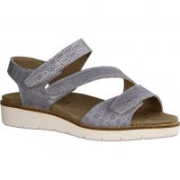 416 Taubenblau - Sandale mit loser Einlage