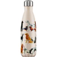 Bottle Dogs 500ml Beige Dogs, Beige