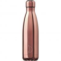 Bottle Rose Gold 500ml Chrome