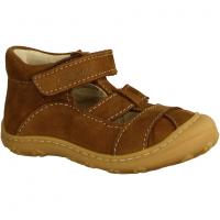 Ricosta 1221300263 Curry - Halbschuh Schnürschuh für Jungen Baby