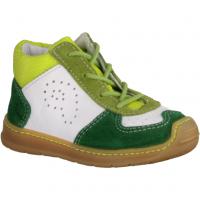 Ricosta 1321100561 Grün/Pea - Halbschuh Schnürschuh für Jungen Baby