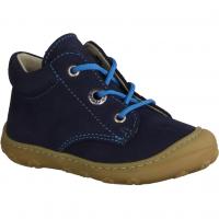 Ricosta 1220500145 Jeans - Halbschuh Schnürschuh für Jungen Baby