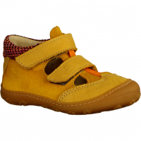 Ebi 1221400763 Senf (gelb) - Halbschuh Schnürschuh Baby
