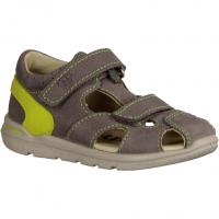 Superfit 00030-44,Smoke Smoke Kombi (grau) - Sandale für Jungen Baby