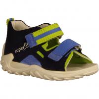 Flow 0000318000 Blau/Grün - Sandale für Jungen Baby