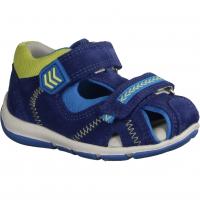 Ricosta Manti 3220100181 (blau) Nautic/Ozean - Sandale für Jungen Baby