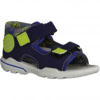 Ricosta Frankie 3221700177 Nautic/Sky,Blau - Sandale für Jungen Baby