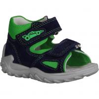 Superfit Flow 09011-80 Blau/Grün - Sandale für Jungen Baby