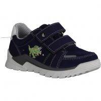 Superfit Storm 09383-81,Blau/Gelb - Klettverschluss Schuh