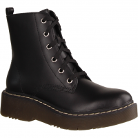 4650-9900 Schwarz - Stiefel ohne Futter