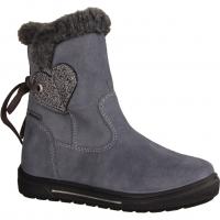 Flavia 00214-06 Stone Kombi (grau) - Stiefel mit Futter