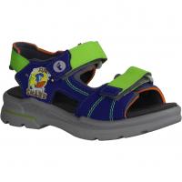 Birkenstock Palu Kids 1012643 Hexagon Tech Blue (blau) - Sandale