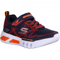 Skechers S Lights - Flex Glow 90542L-NVR Navy/Red (blau) - Sportschuh