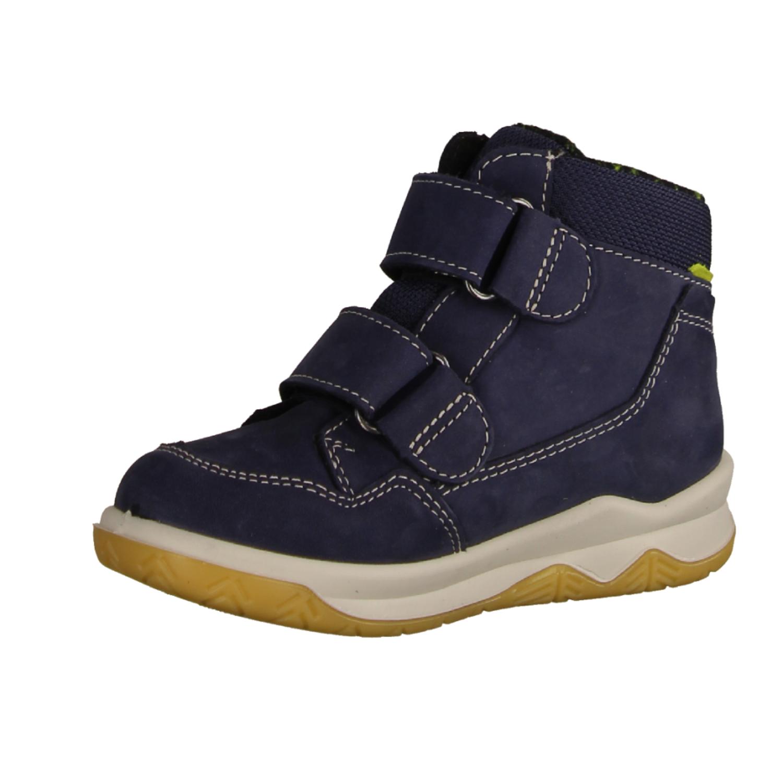 65505-100 Navy (blau) - Stiefel mit Futter