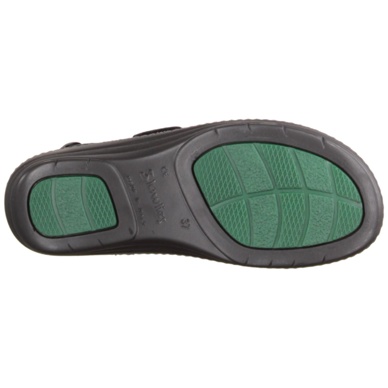 161 Schwarz - Sandale mit loser Einlage